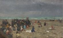 Beppe Ciardi, Riposo sulla spiaggia