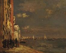 Beppe Ciardi, Scorcio di Venezia