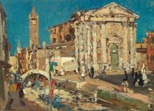 Emma Ciardi, Chiesa di san Barnaba, Venezia | Church of San Barnaba, Venice