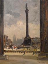 Emma Ciardi, La colonna di Nelson a Trafalgar Square, Londra | Nelson's Column in Trafalgar Square, London