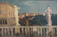 Emma Ciardi, Panorama di Venezia