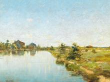 Guglielmo Ciardi, Mulino sul Sile | Mill on the river Sile