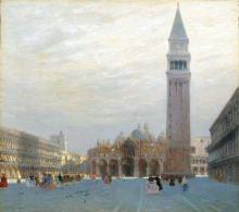 Guglielmo Ciardi, Basilica di San Marco a Venezia