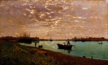 Guglielmo Ciardi, Canale della Giudecca