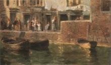 Ciardi Guglielmo, Canale di Venezia (Fondamenta di Venezia)