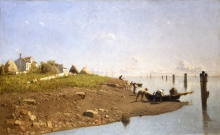 Guglielmo Ciardi, Giorno d'estate: la laguna a Mazzorbo