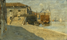 Guglielmo Ciardi, Giudecca