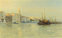 Guglielmo Ciardi, Il Canal Grande, Venezia | The Grand Canal, Venice