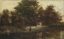 Guglielmo Ciardi, La casa sul fiume