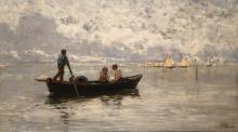 Guglielmo Ciardi, Laguna di Chioggia