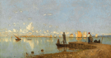 Guglielmo Ciardi, Laguna   Lagoon