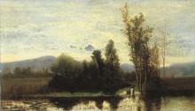 Guglielmo Ciardi, Lavandaie sul Sile