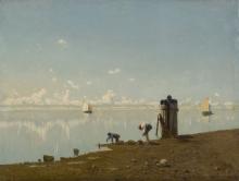 Ciardi Guglielmo, Mattino in laguna
