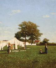 Guglielmo Ciardi, Panni al sole [dettaglio]