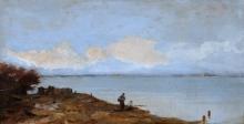 Ciardi Guglielmo, Pescatori nella laguna veneta.jpg