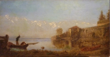 Ciardi Guglielmo, Pescatori sul lago.jpg