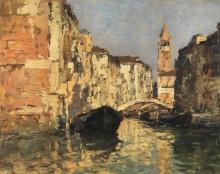 Ciardi Guglielmo, Scorcio di Venezia.jpg