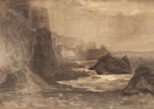 Ciardi Guglielmo, Veduta di Sorrento