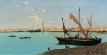 Guglielmo Ciardi, Veduta di Venezia