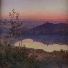 Enrico Coleman, Speculum Dianae - Lago di Nemi