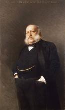 Vittorio Matteo Corcos, Ritratto dell'editore Emilio Treves