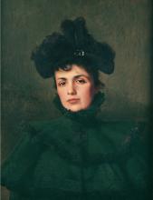 Corcos, Ritratto della moglie.png