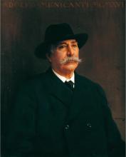 Corcos, Ritratto di Adolfo Menicanti.png
