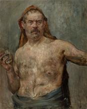 Lovis Corinth, Autoritratto con un bicchiere | Autoportrét se sklenicí | Self-portrait with a glass