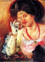 Corinth, Donna con un bicchiere di vino | Frau mit einem Glas Wein | Woman with a glass of wine