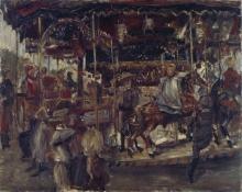 Lovis Corinth, La giostra | Das Karussell