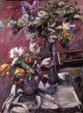 Lovis Corinth, Lillà e tulipani | Flieder und Tulpen | Lilacs and tulips