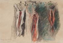 Lovis Corinth, Studio di maiali sventrati | Studie vyvržených vepřů | Study of gutted pigs
