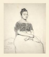 Jean-Baptiste Camille Corot, Donna seduta | A seated woman