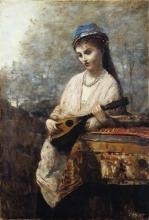 Corot, Giovane donna con mandolino.jpg
