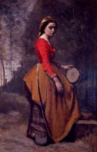 Corot, Gitana con tamburello.jpg