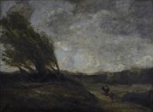 Corot, Il colpo di vento | Le coup de vent | The gust of wind