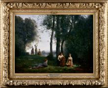 Jean-Baptiste Camille Corot, Il concerto campestre | Le concert champêtre