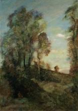 Corot, Il sognatore nella radura | Le rêveur dans la clairière | The dreamer in the clearing