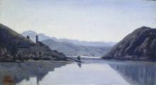 Jean-Baptiste Camille Corot, Lago di Piediluco, Umbria