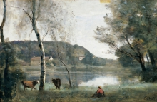 Coro, Lo stagno di Ville d'Avray | L'étang de Ville-d'Avray | The pond of Ville d'Avray | El estanque de la Ville d'Avray