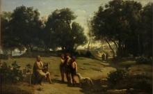 Corot, Omero e i pastori.jpg