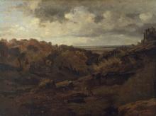 Corot, Paesaggio autunnale nei pressi di Marino | Italienische Herbstlandschaft bei Marino | Italian autumn landscape near Marino