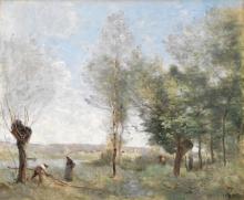 Jean-Baptiste Camille Corot, Ricordo di Coubron | Souvenir de Coubron