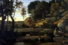 Jean-Baptiste Camille Corot, Sito italiano | Site d'Italie