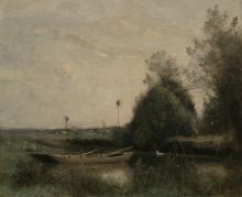 Corot, Uno stagno a Mortain.png