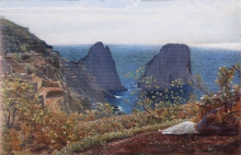 Costa, I faraglioni di Capri. Una mattina d'ottobre.jpg