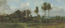 Giovanni (Nino) Costa, Nella campagna