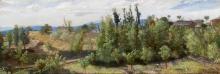 Costa, Paesaggio boscoso presso Perugia