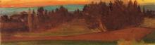 Costa, Paesaggio con villa sullo sfondo.jpg
