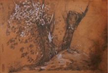Giovanni (NIno) Costa, Studio di alberi